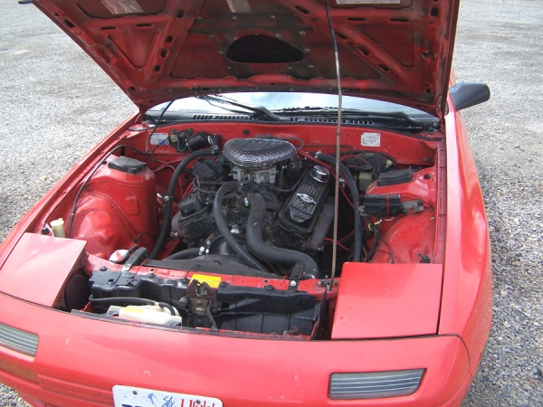 Mazda Rx7 To Chevy V8 350 Conversion Garp