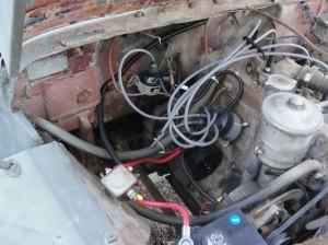 1948    Willys    CJ2 Jeep re   wiring    part 1   Garp
