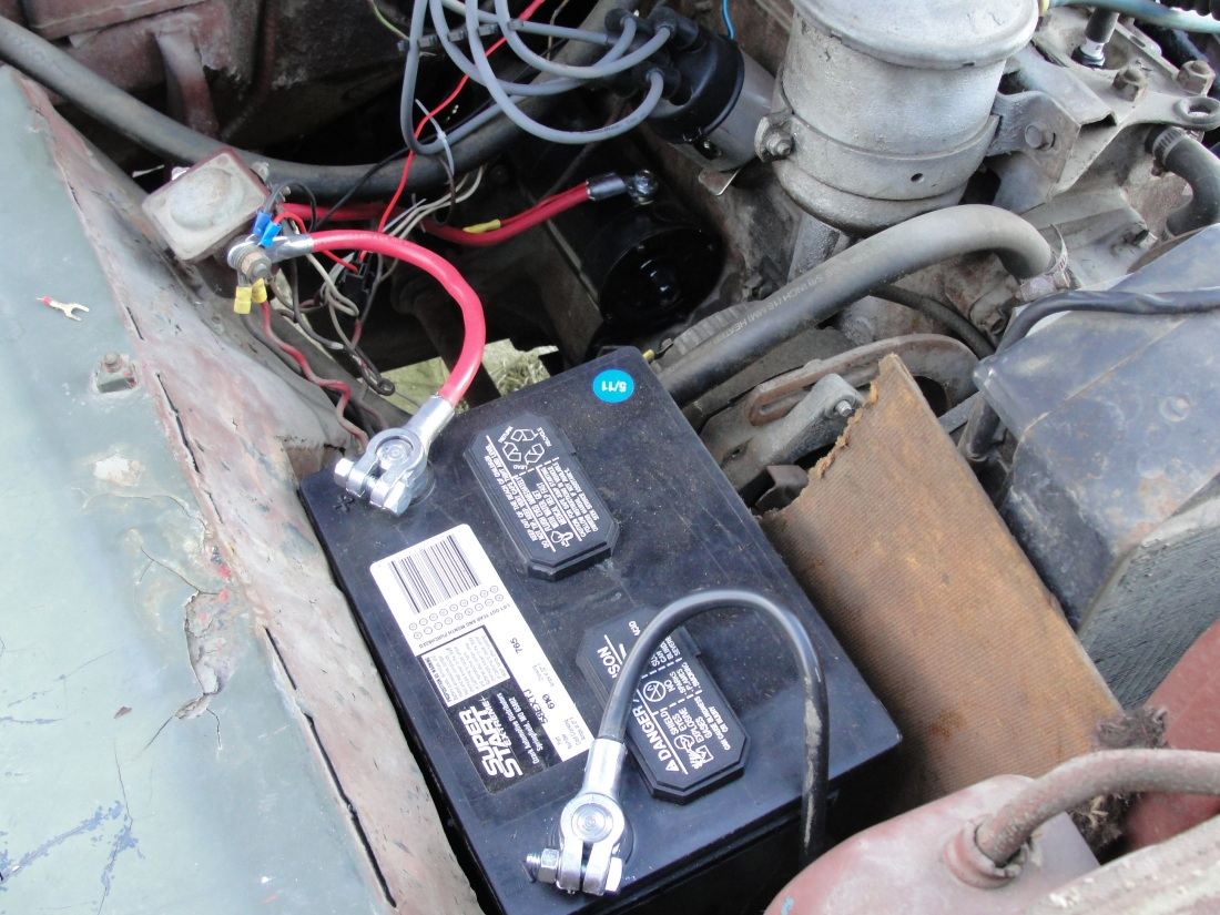 1948 Willys Cj2 Jeep Starter Coil And Distributor Replacement Garp Wiring Slackers