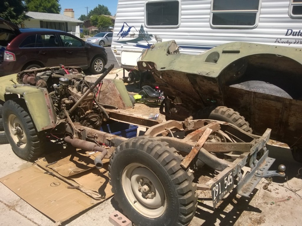 17 month functional restoration: 1948 Willys CJ2A! - Wrenchable